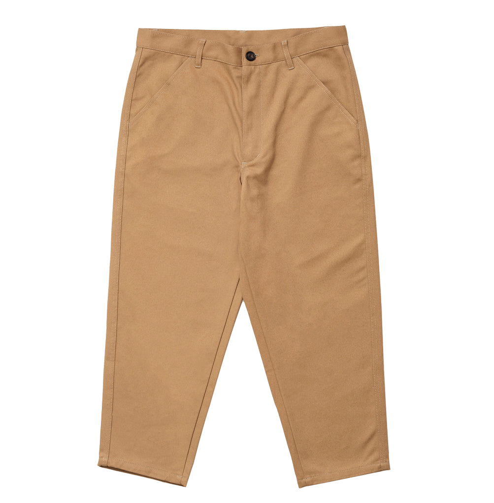 Comme des Garçons Shirt Woven Pants: Beige - The Union Project
