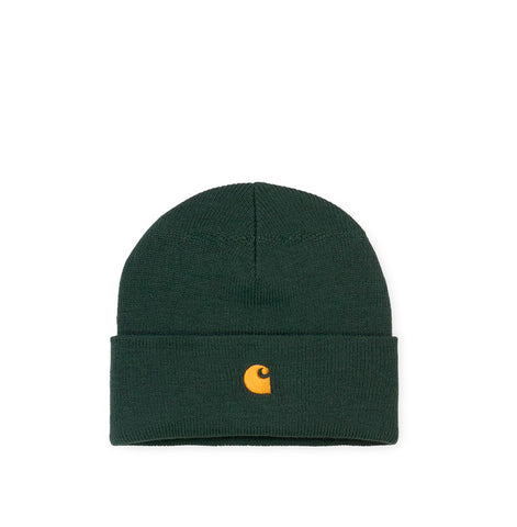 Headwear Carhartt WIP Chase Beanie: Dark Teal - The Union Project, Cheltenham, free delivery