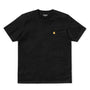 Carhartt WIP Chase T-Shirt: Black/Gold