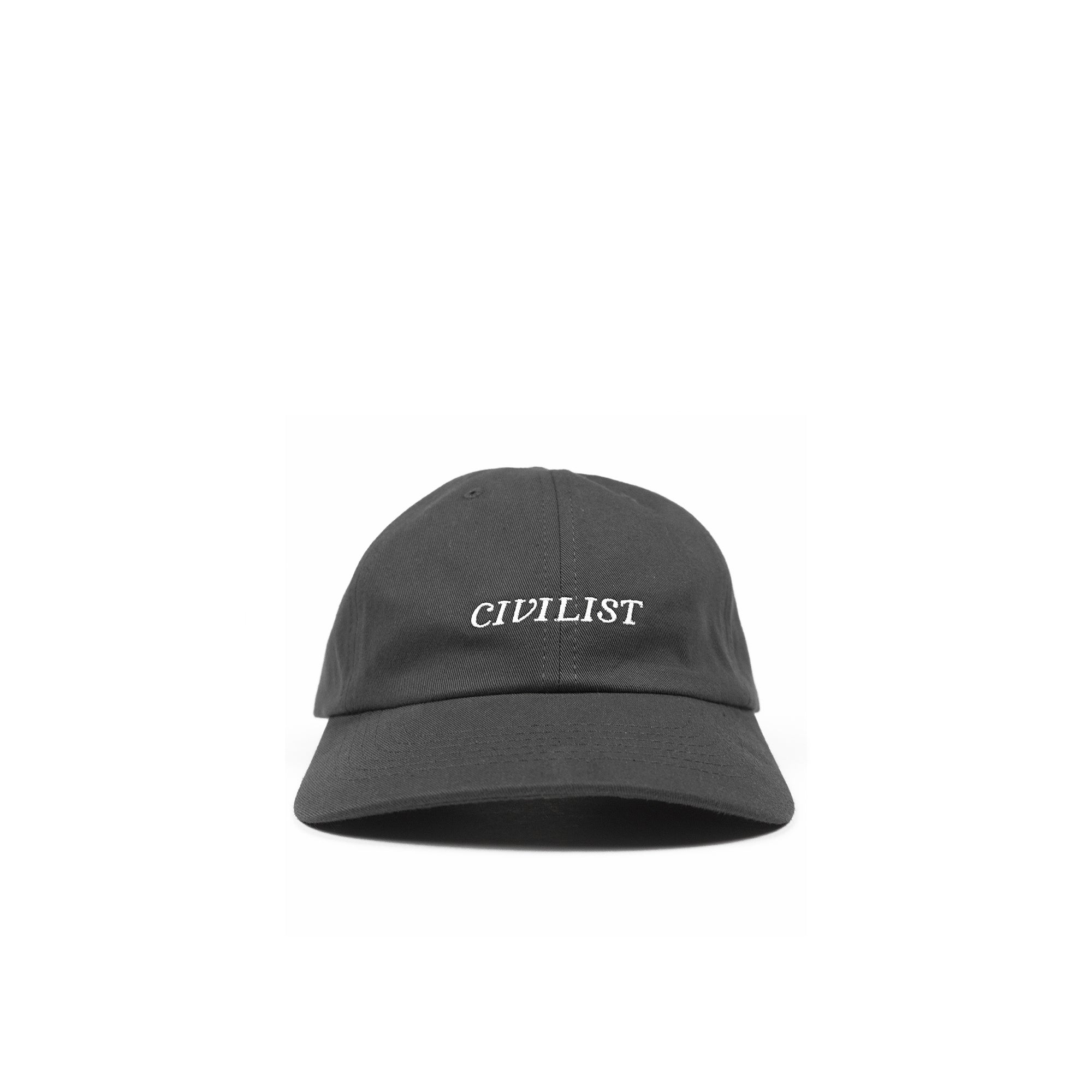 Civilist Sports Cap: Charcoal / White - The Union Project