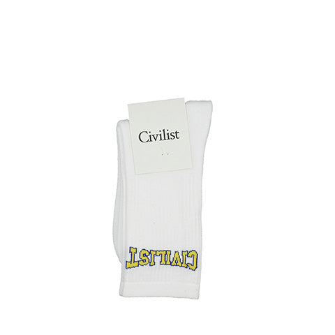 Civilist Club Socks: White - The Union Project