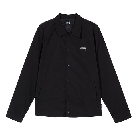 Outerwear Stussy Classic Coach Jacket: Black - The Union Project, Cheltenham, free delivery