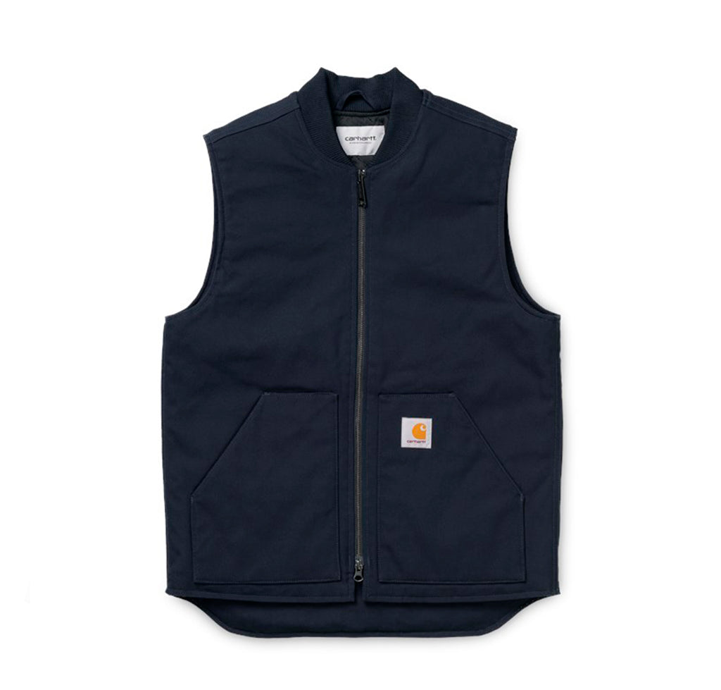 Carhartt WIP Vest: Dark Navy - The Union Project