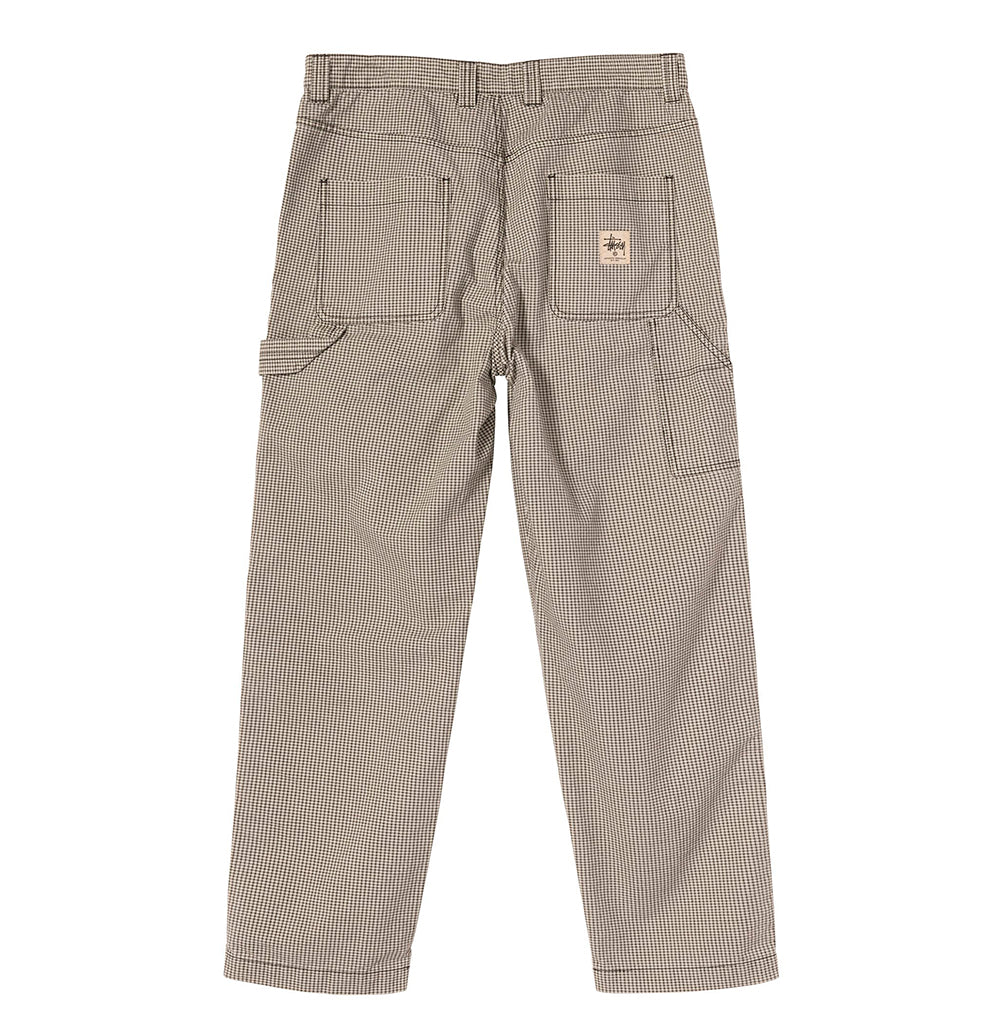 Stussy Check Work Pant: Check - The Union Project