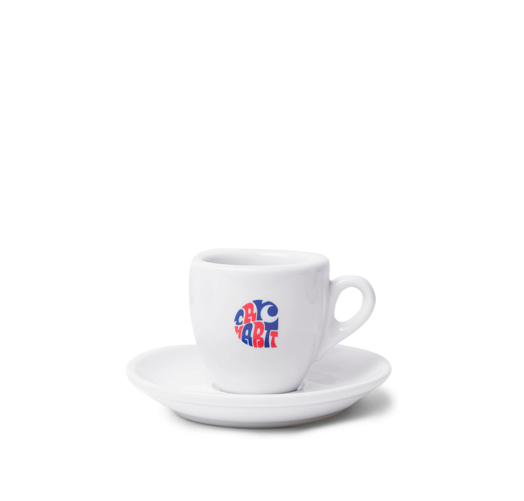 Carhartt WIP Clearwater Espresso Set: White - The Union Project