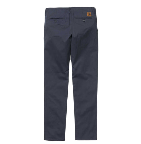 Trousers Carhartt WIP Club Pant: Navy Rigid - The Union Project