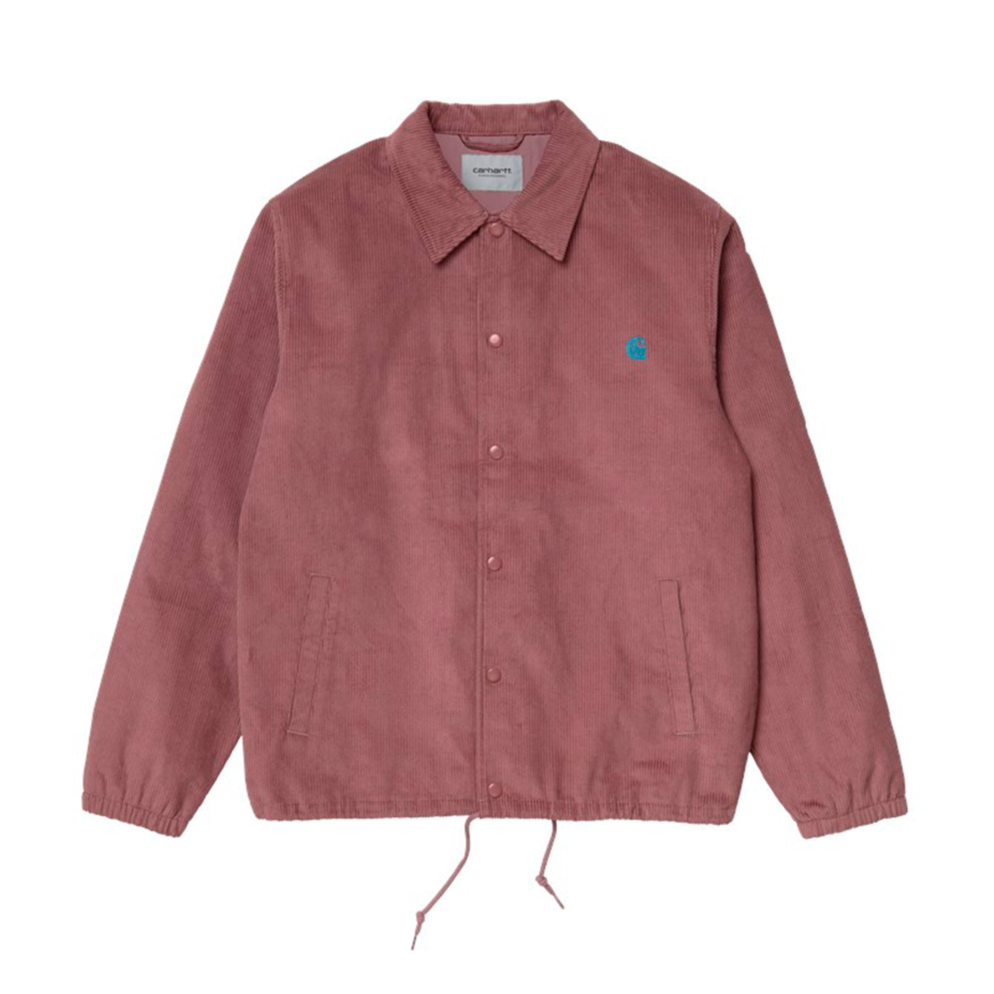 Carhartt WIP Corduroy Coach Jacket: Malaga / Corse - The Union Project
