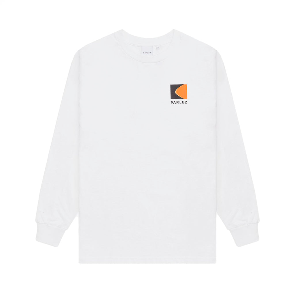 Parlez L/S Coastal T-Shirt: White - The Union Project