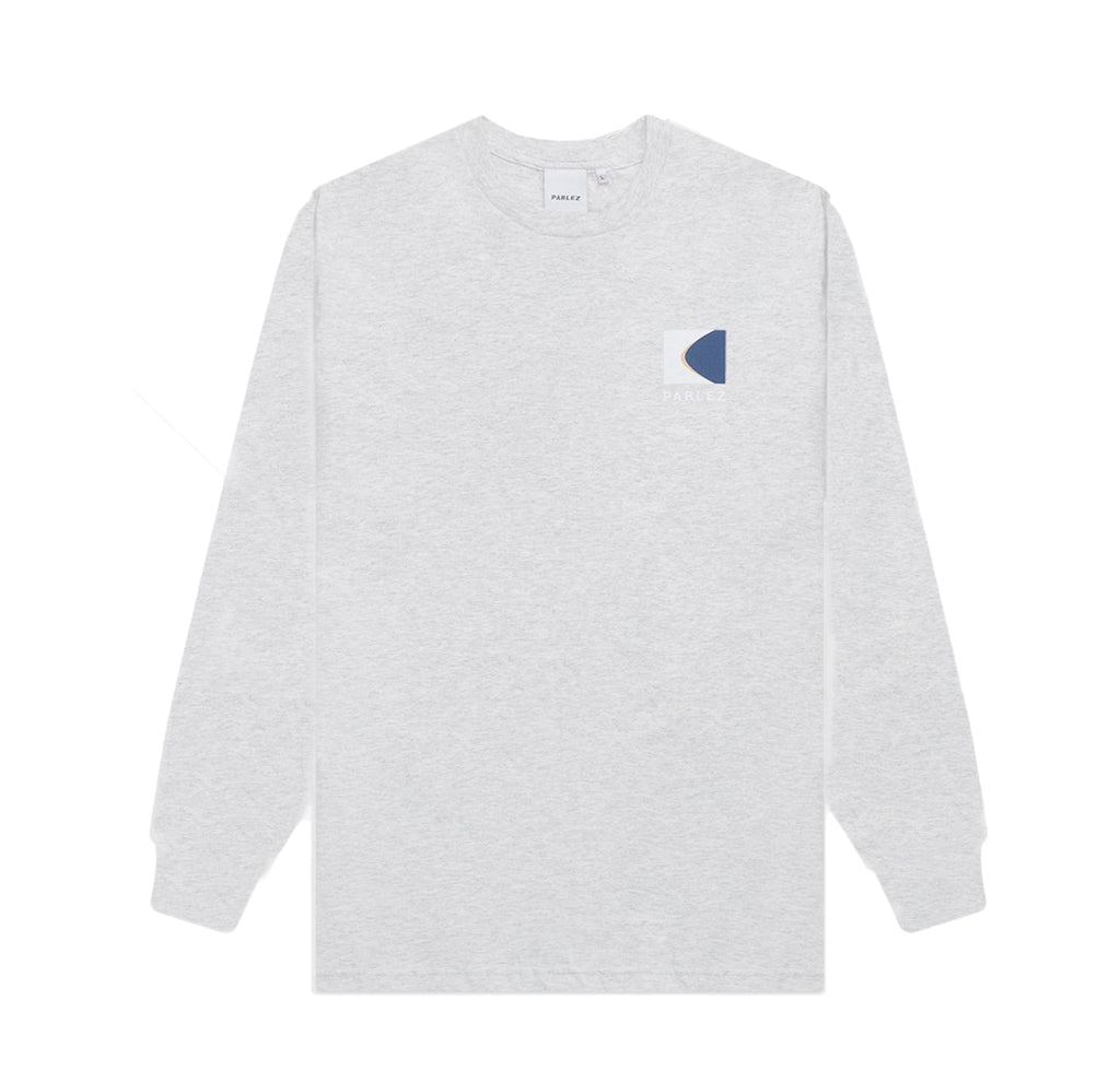 Parlez L/S Coastal T-Shirt: Heather - The Union Project