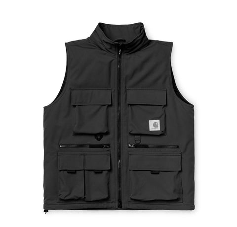 Outerwear Carhartt WIP Colewood Vest: Black - The Union Project, Cheltenham, free delivery