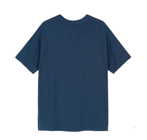 Stussy Collegiate Arc Tee: Navy
