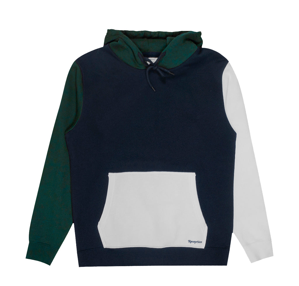 Reception Colour Block Hoodie: Multi Colour - The Union Project