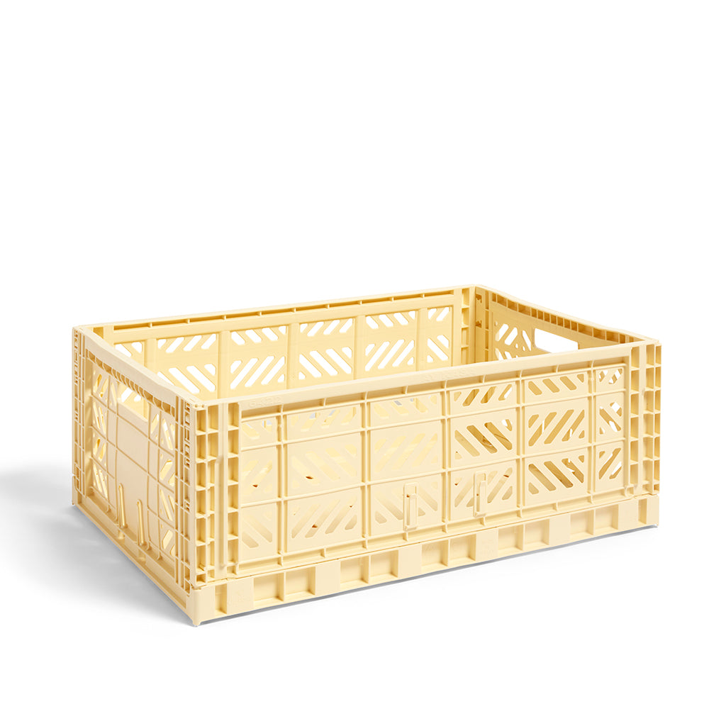 HAY Colour Crate L: Light Yellow - The Union Project