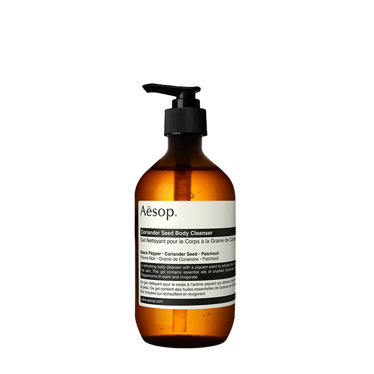Bath + Body Aesop Coriander Seed Body Cleanser 500ML - The Union Project, Cheltenham, free delivery