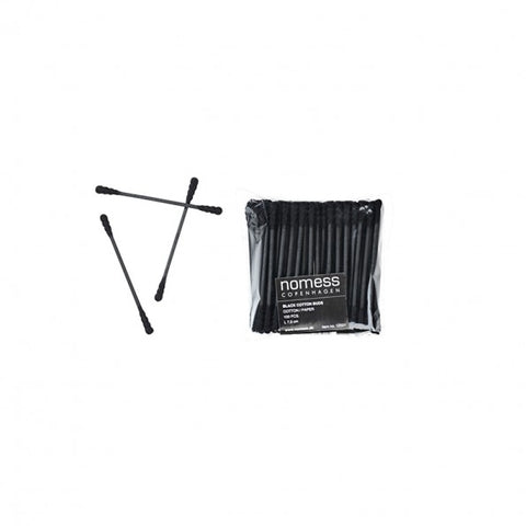 Wellbeing Nomess Cotton Buds: Black - The Union Project, Cheltenham, free delivery