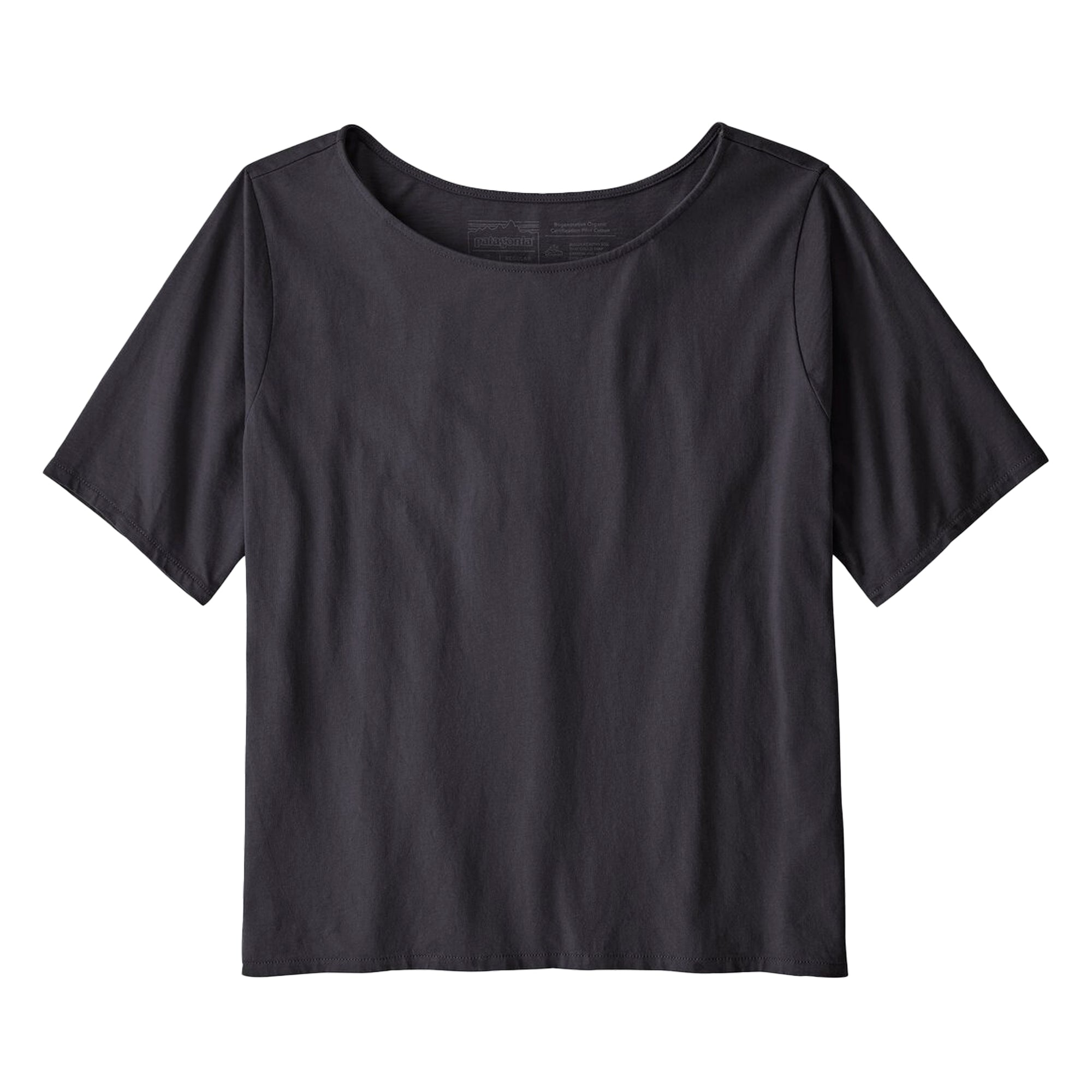 Patagonia Womens Cotton in Conversion Tee: Black - The Union Project