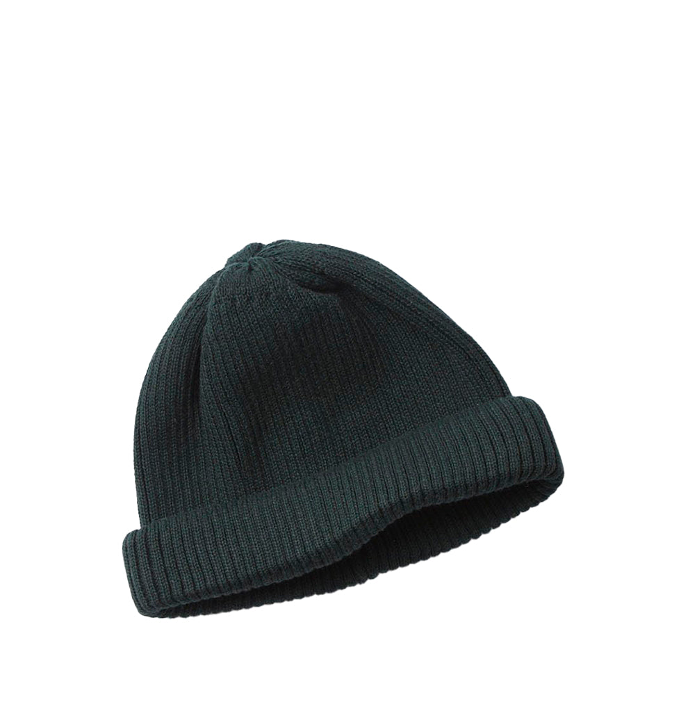 Beanies Rototo Cotton Roll Up Beanie: D. Green - The Union Project, Cheltenham, free delivery
