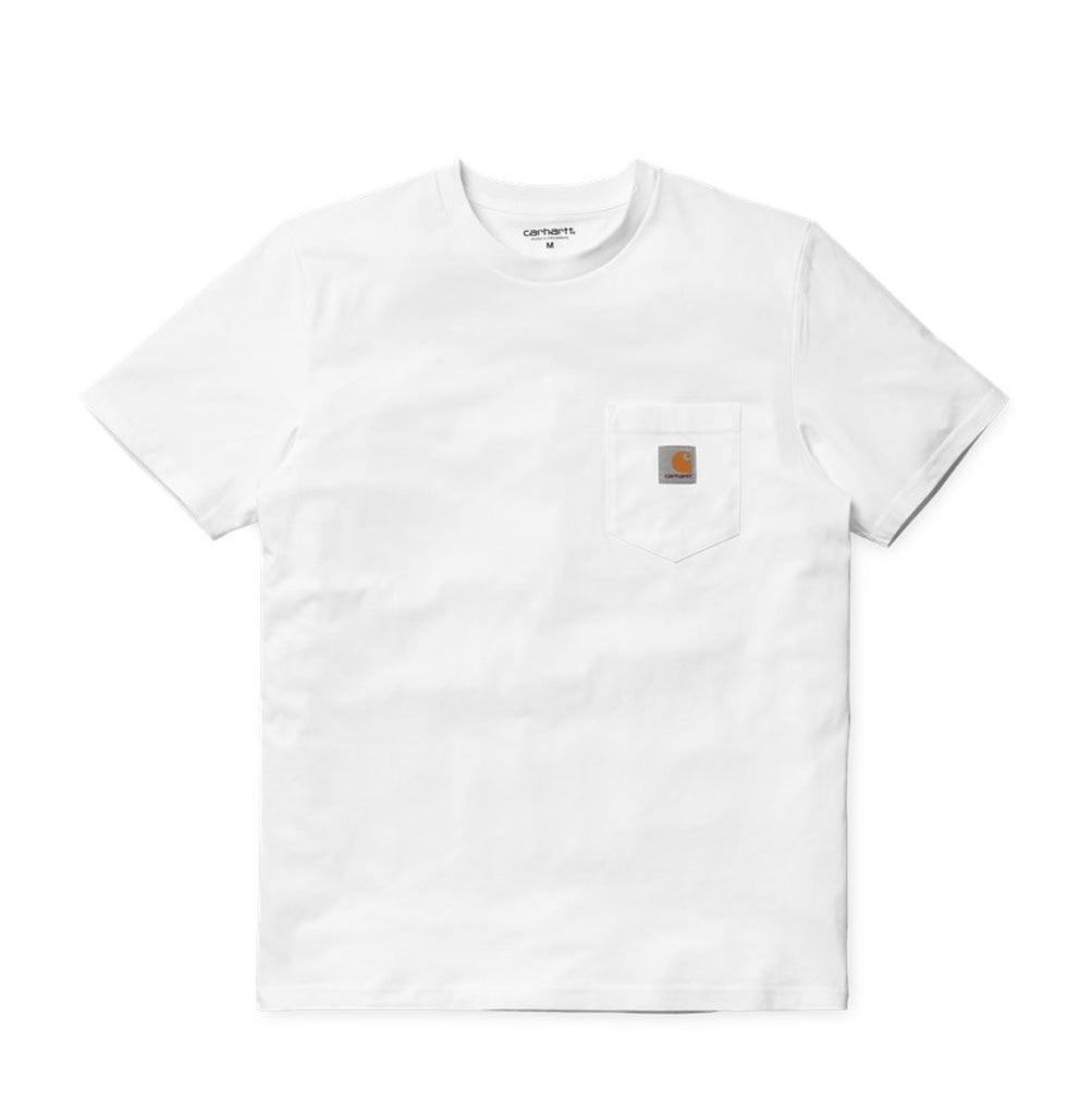Carhartt WIP Pocket T-Shirt: White - The Union Project
