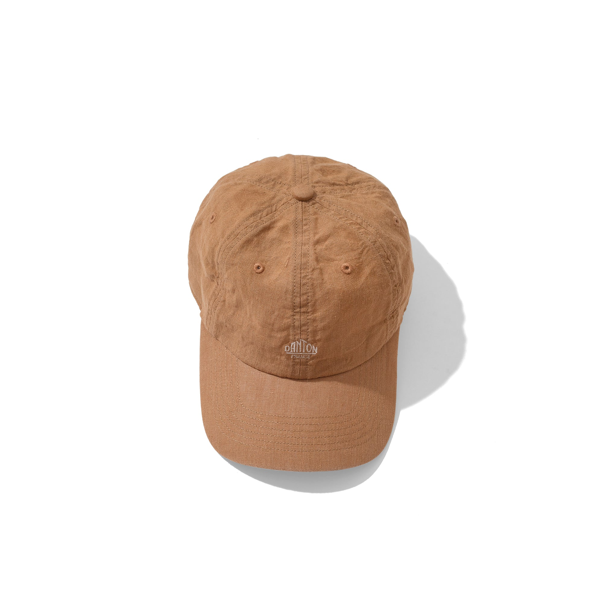 Danton Linen Cap: Beige - The Union Project