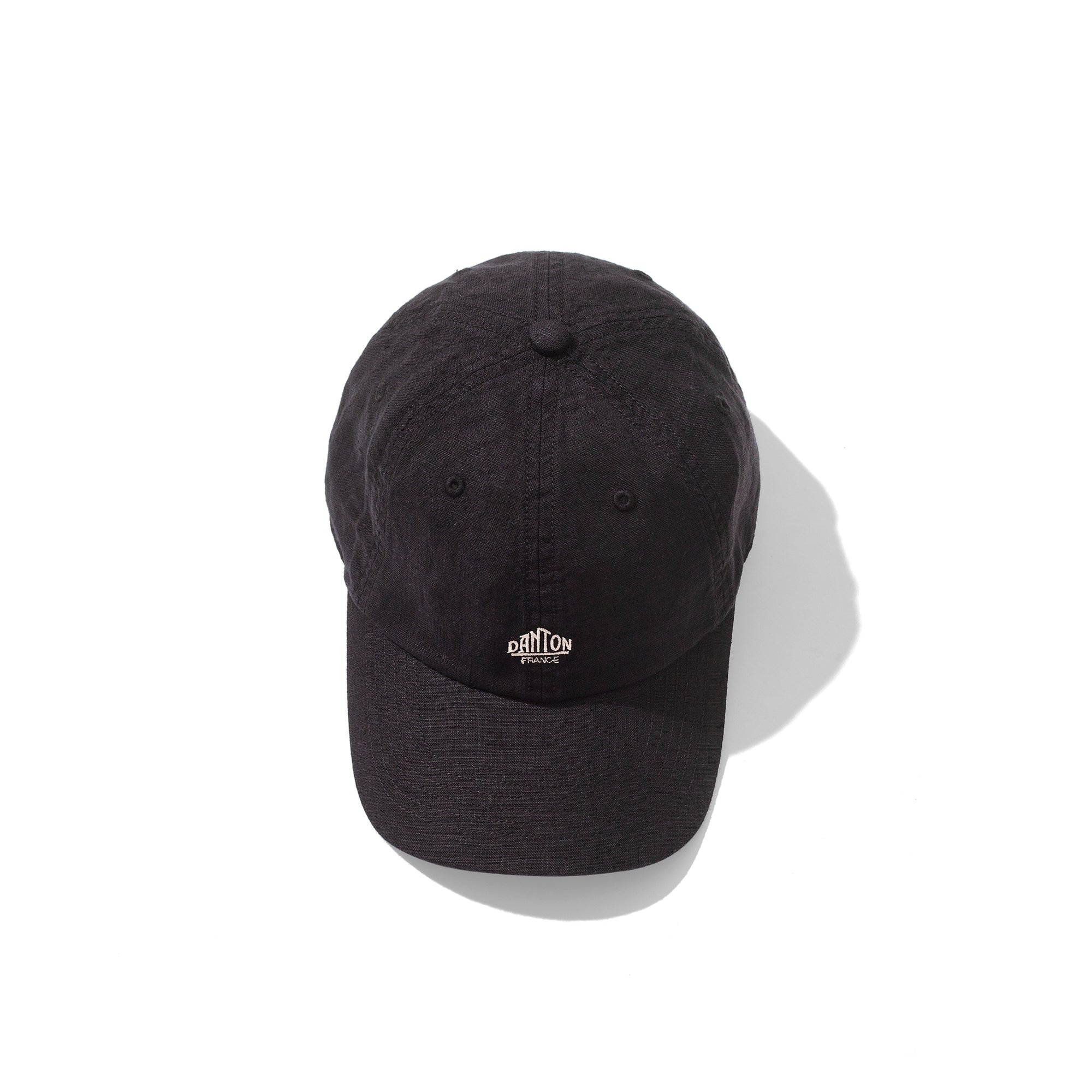 Danton Linen Cap: Black - The Union Project