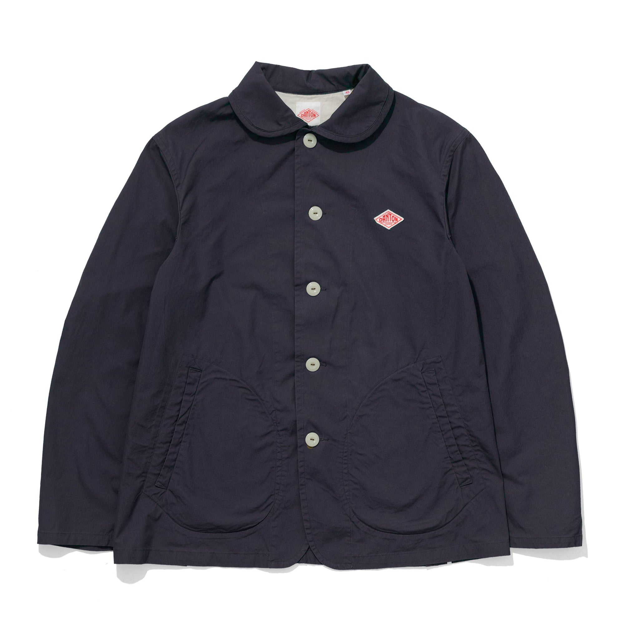 Danton Round Collar Jacket: Navy - The Union Project