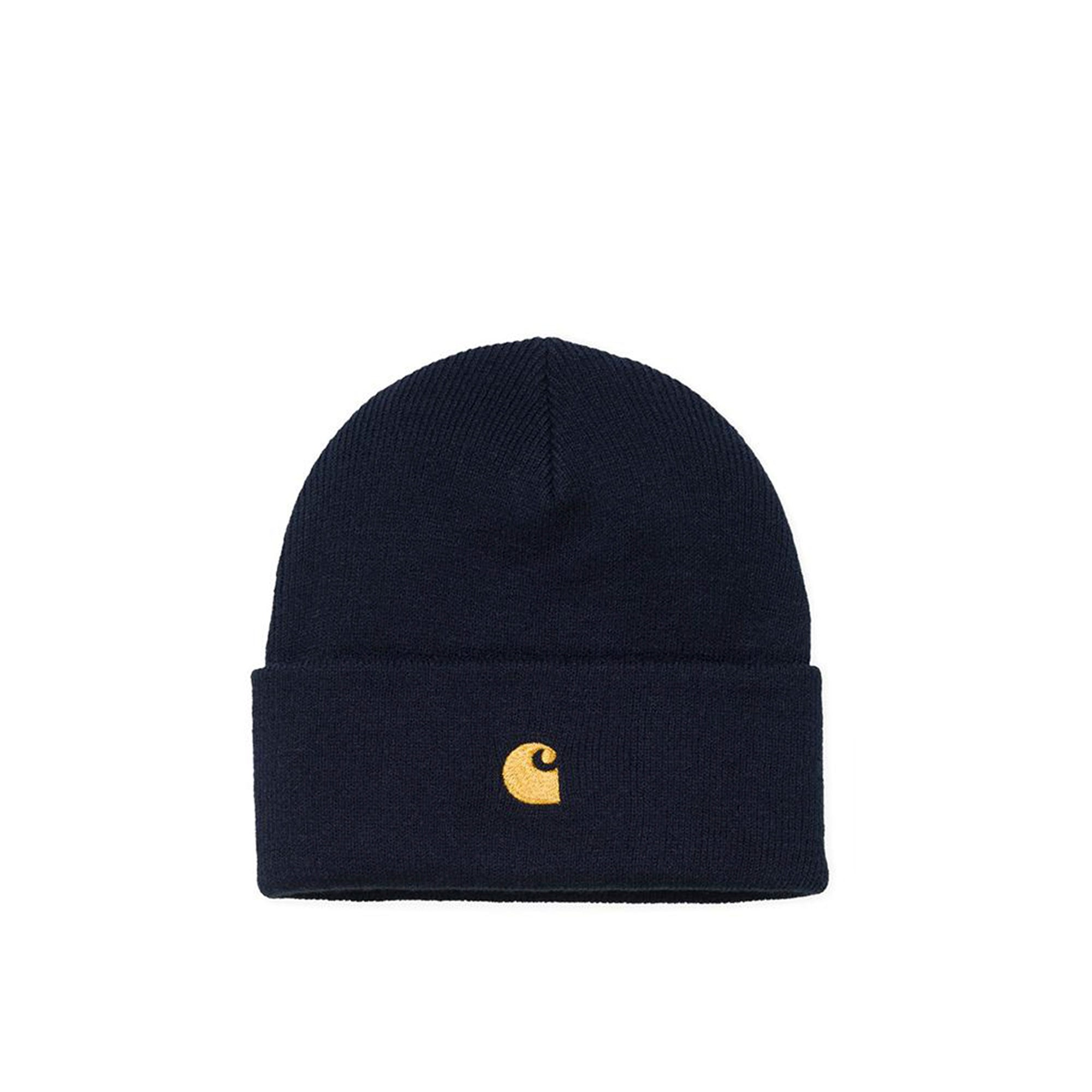 Carhartt WIP Chase Beanie: Dark Navy - The Union Project