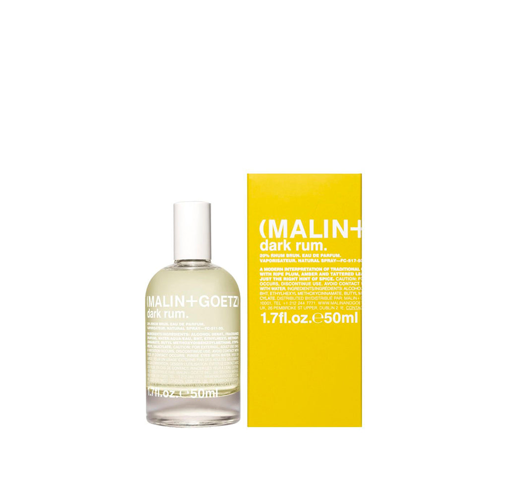 Malin + Goetz Dark Rum Eau De Parfum: 50ml - The Union Project