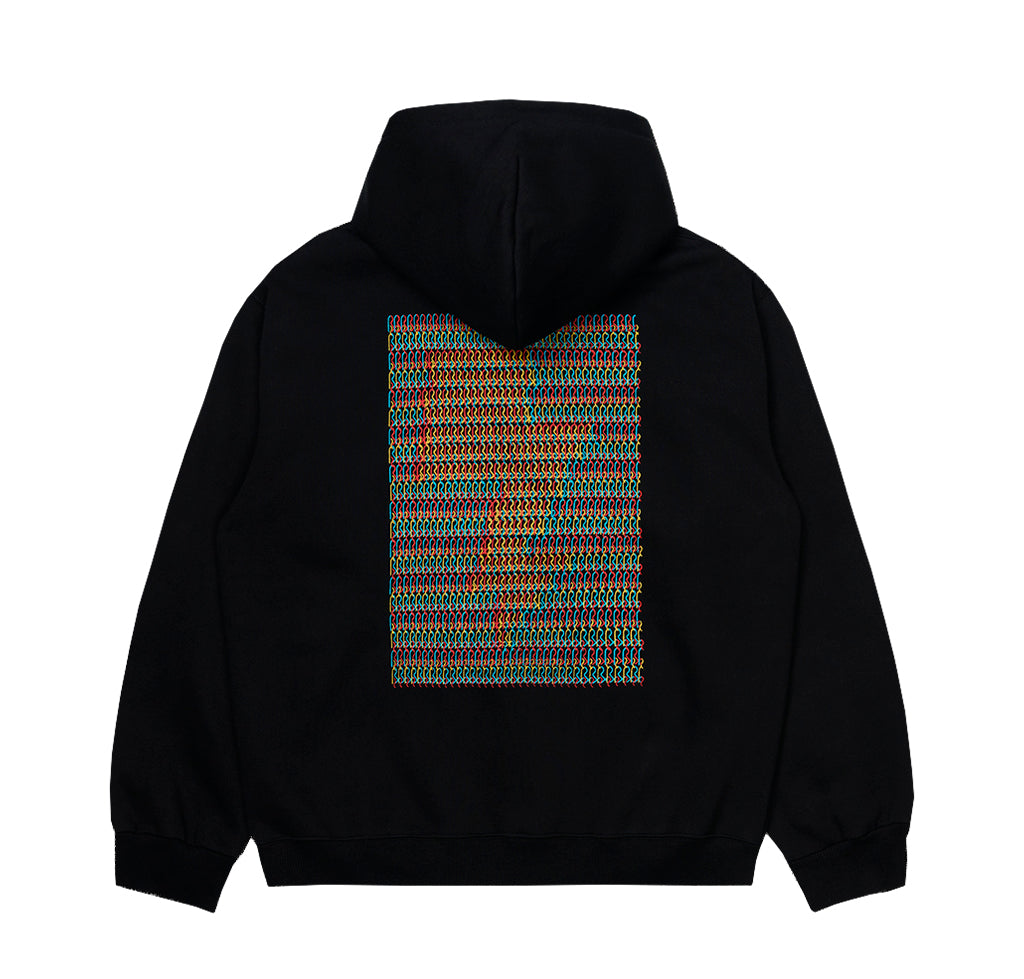 Hoodies Carhartt WIP x Relevant Parties Hooded DFA Sweat: Black - The Union Project, Cheltenham, free delivery