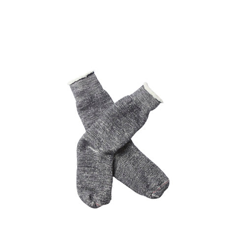 Rototo Double Face Socks: Charcoal - The Union Project