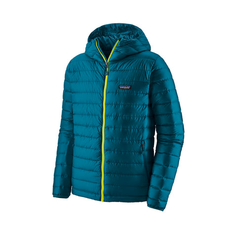 Patagonia Down Sweater Hoody: Crater Blue