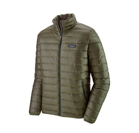 Patagonia Down Sweater Jacket: Industrial Green