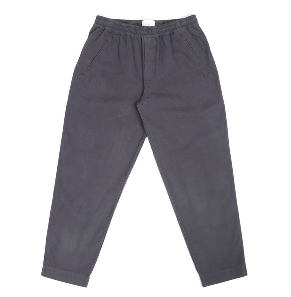 Folk Drawcord Assembly Pant: Charcoal - The Union Project