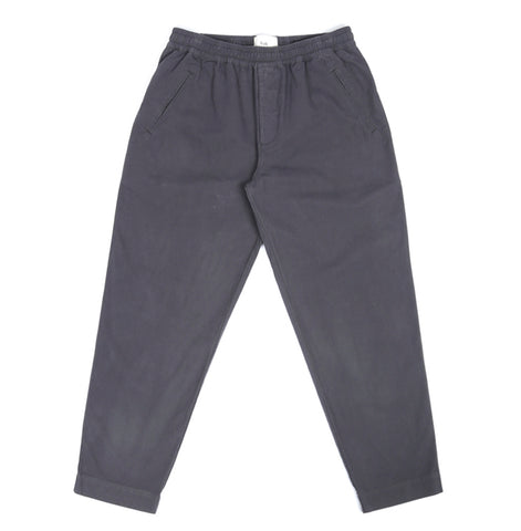 Folk Drawcord Assembly Pant: Charcoal
