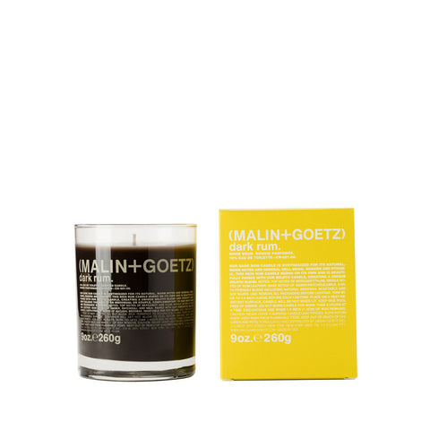 Home Fragrance + Candle Holders Dark Rum Candle: 260g - The Union Project