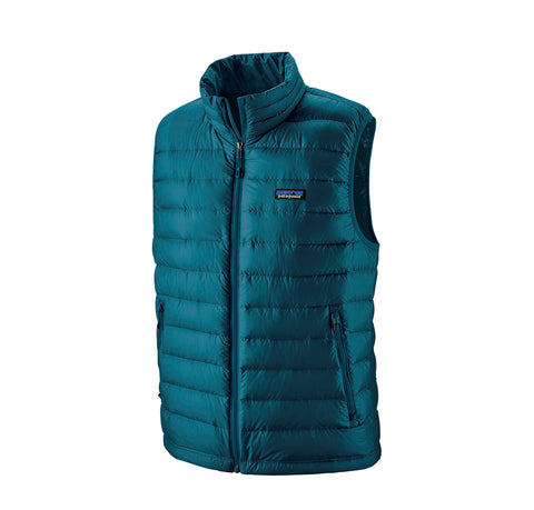 Patagonia Down Sweater Vest: Crater Blue