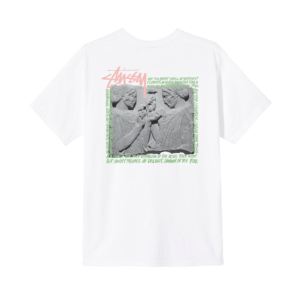 Stussy Elation Tee: White - The Union Project