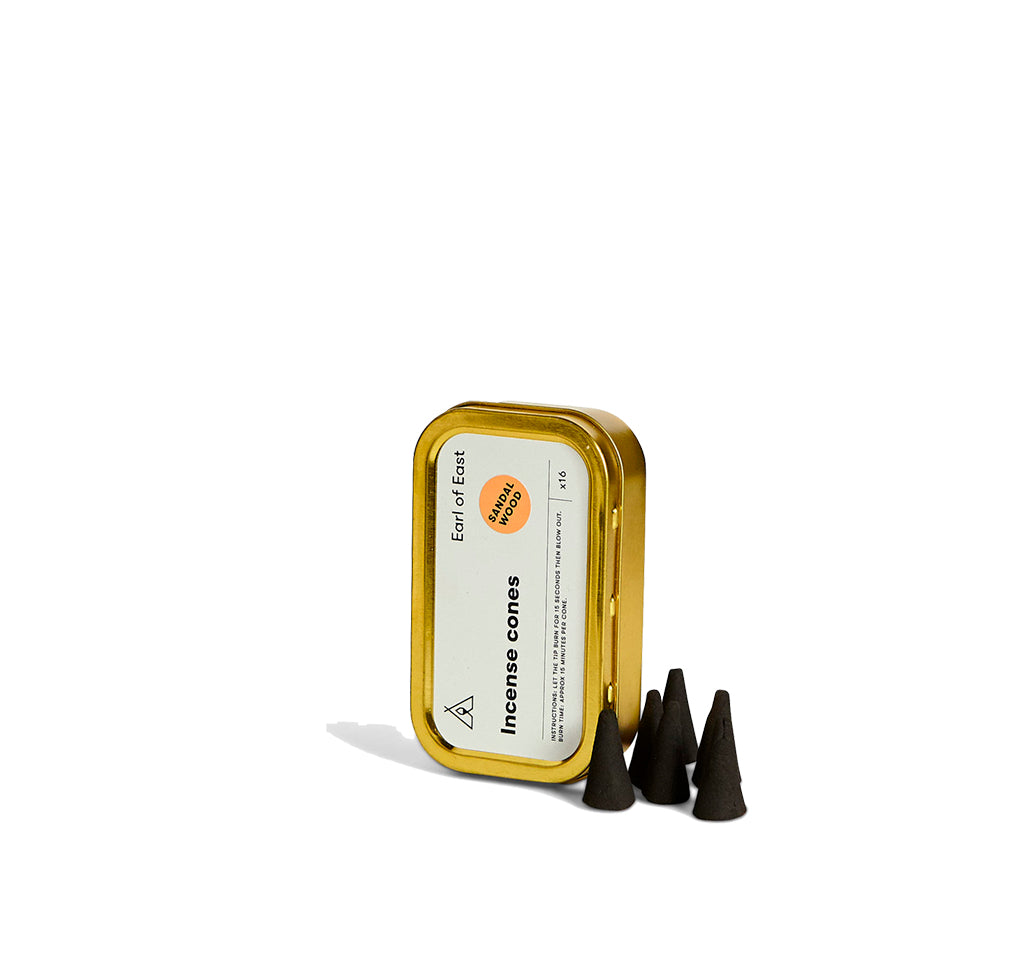 Earl of East London Incense Cone: Sandalwood - The Union Project