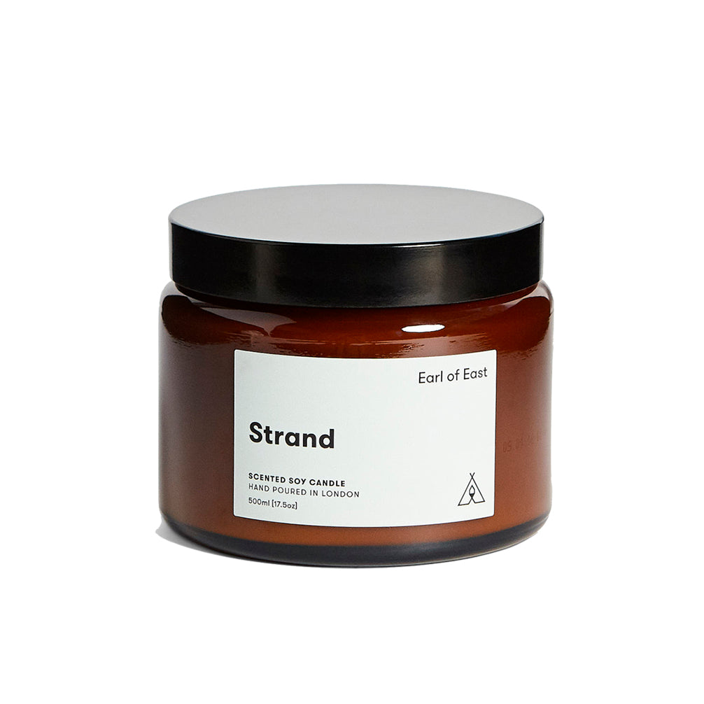 Candles Earl of East London Soy Wax Candle 500ml: Strand - The Union Project, Cheltenham, free delivery