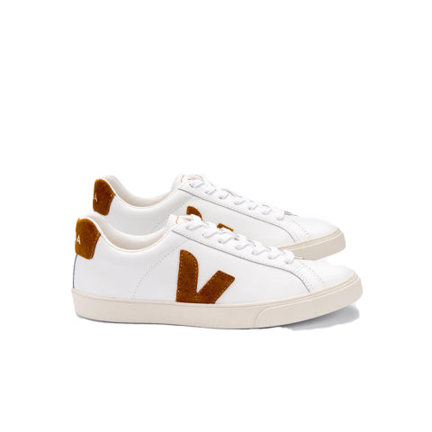 Footwear Veja Esplar: Extra White / Camel - The Union Project, Cheltenham, free delivery