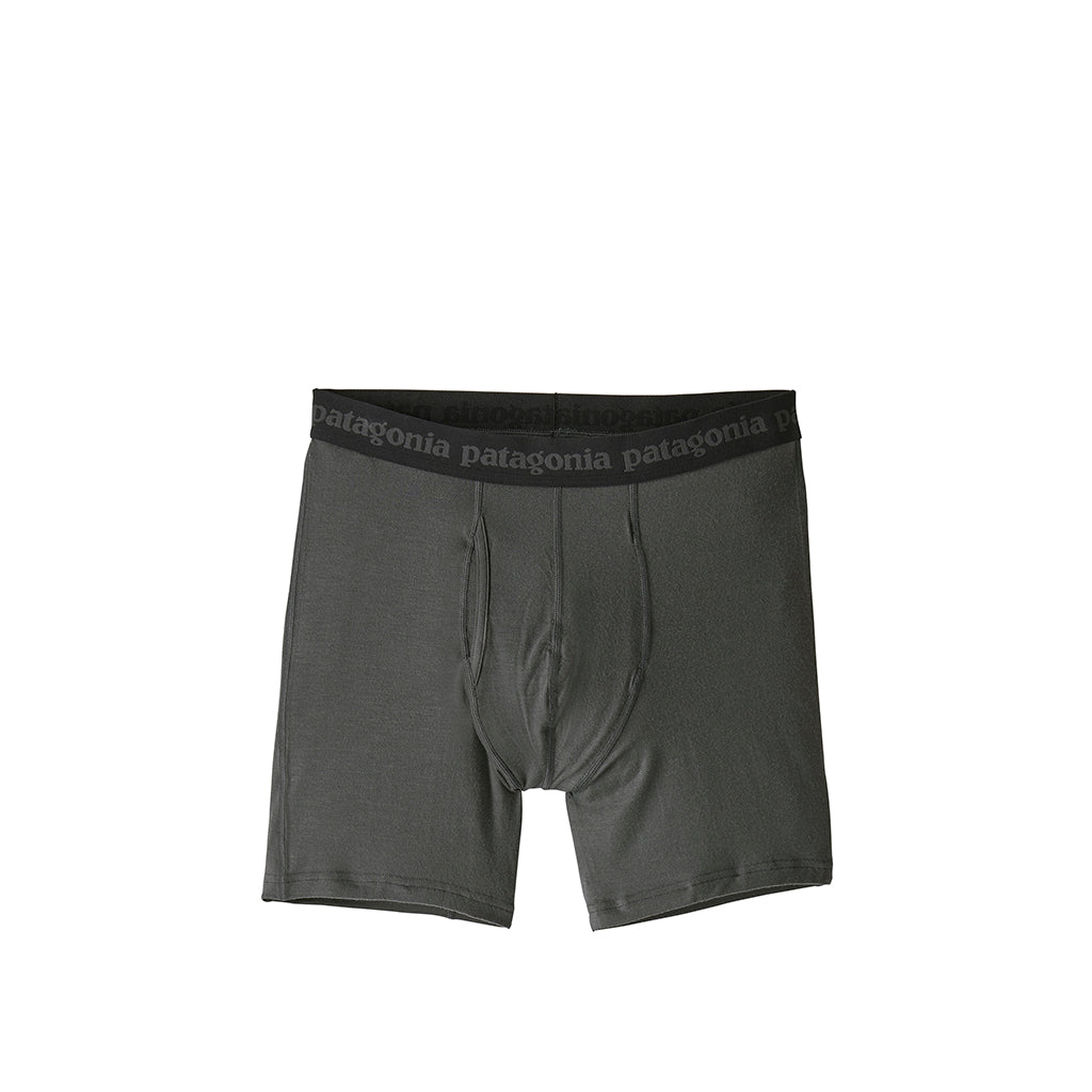 Patagonia Essential Boxer Briefs 6in: Forge Grey - The Union Project