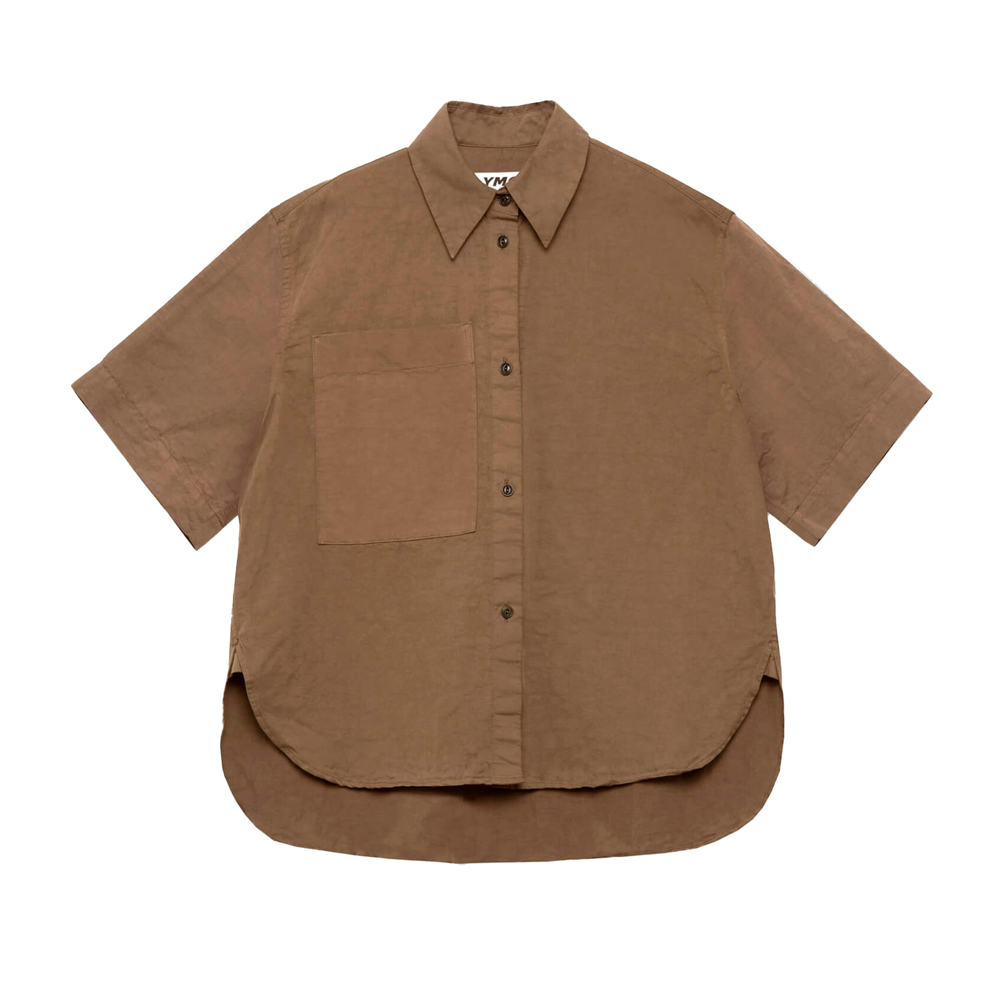 YMC Womens Eva Shirt: Olive - The Union Project