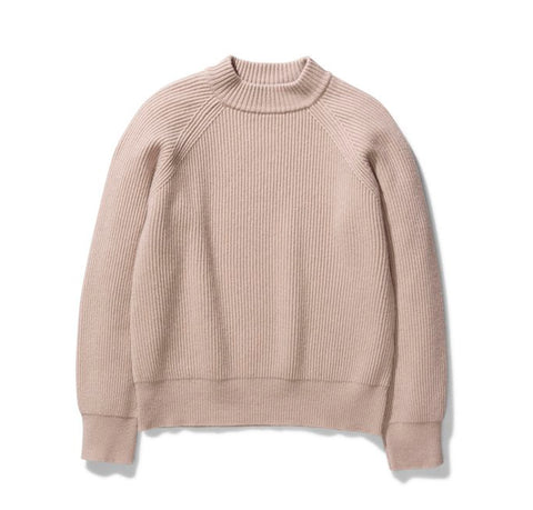 Norse Projects Women's Evelina Lambswool: Utility Khaki