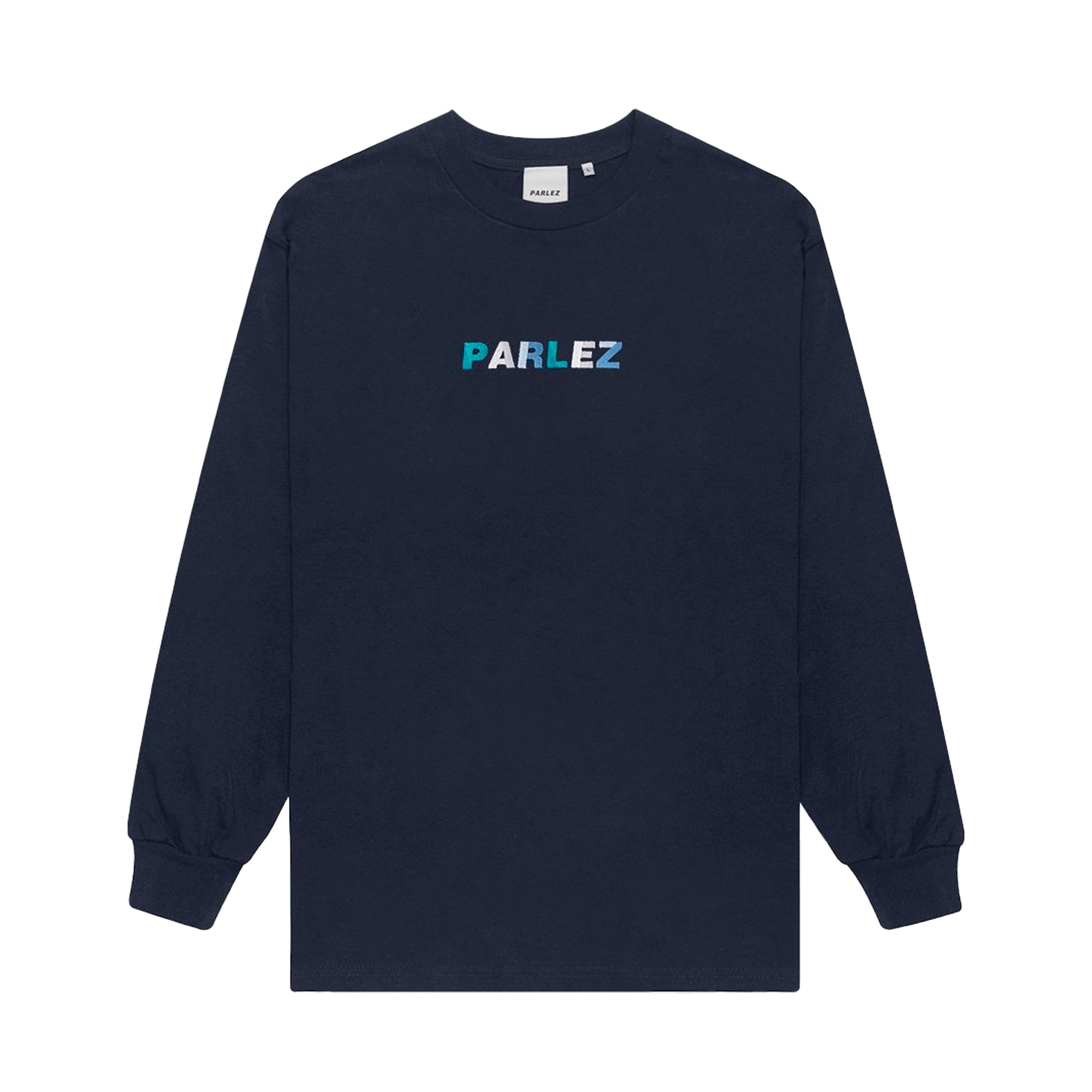 Parlez Faded L/S T-Shirt: Navy - The Union Project