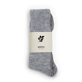 Luxury Alpaca Sock: Soft Grey