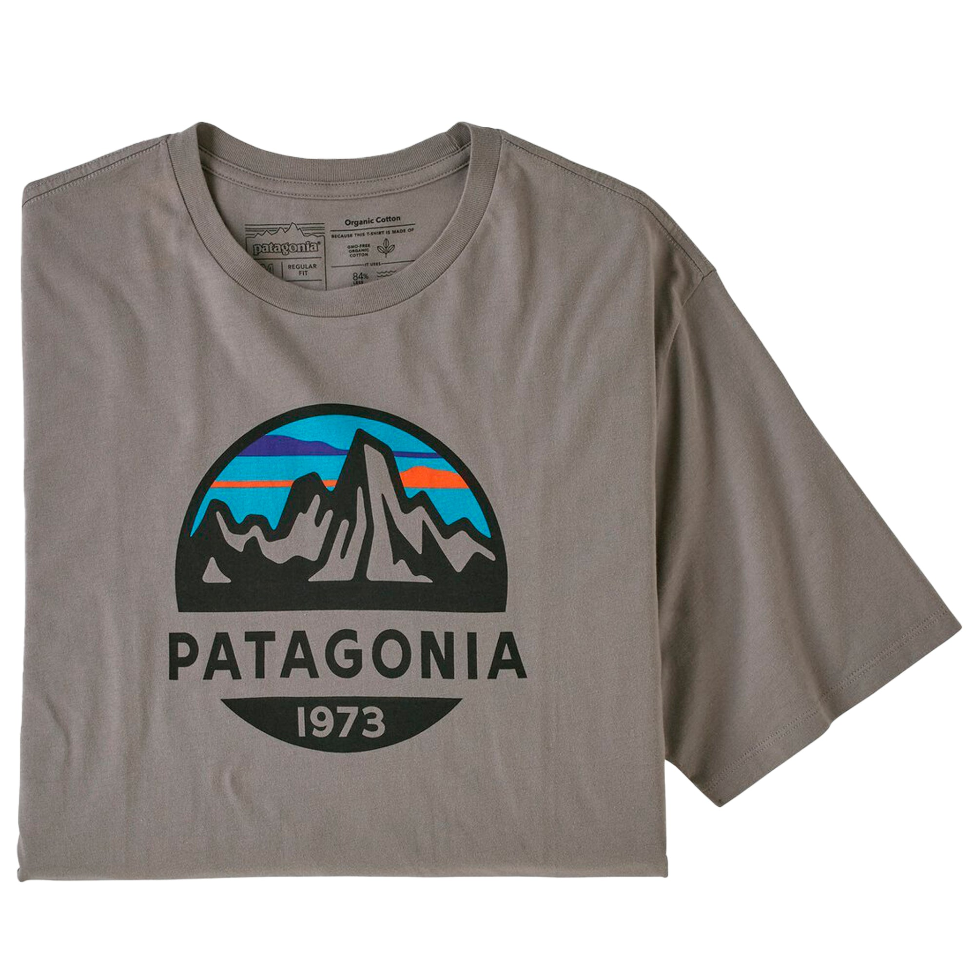 Patagonia Fitz Roy Scope Organic T-Shirt: Feather Grey - The Union Project