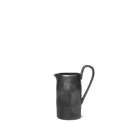 Glassware Ferm Living Flow Jug: Black - The Union Project, Cheltenham, free delivery