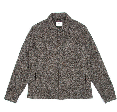 Outerwear Folk Wool Orb Jacket: Stone Moss - The Union Project, Cheltenham, free delivery
