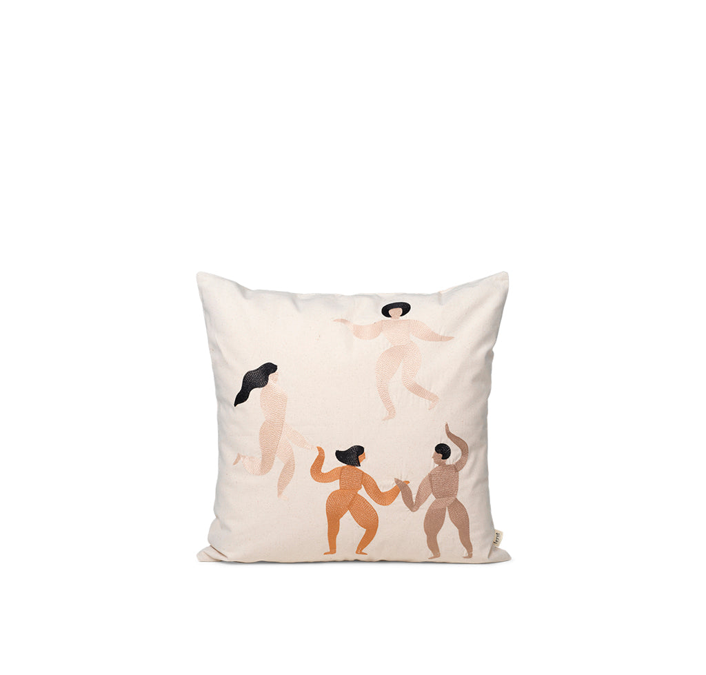 Ferm Living Free Cushion: Natural - The Union Project