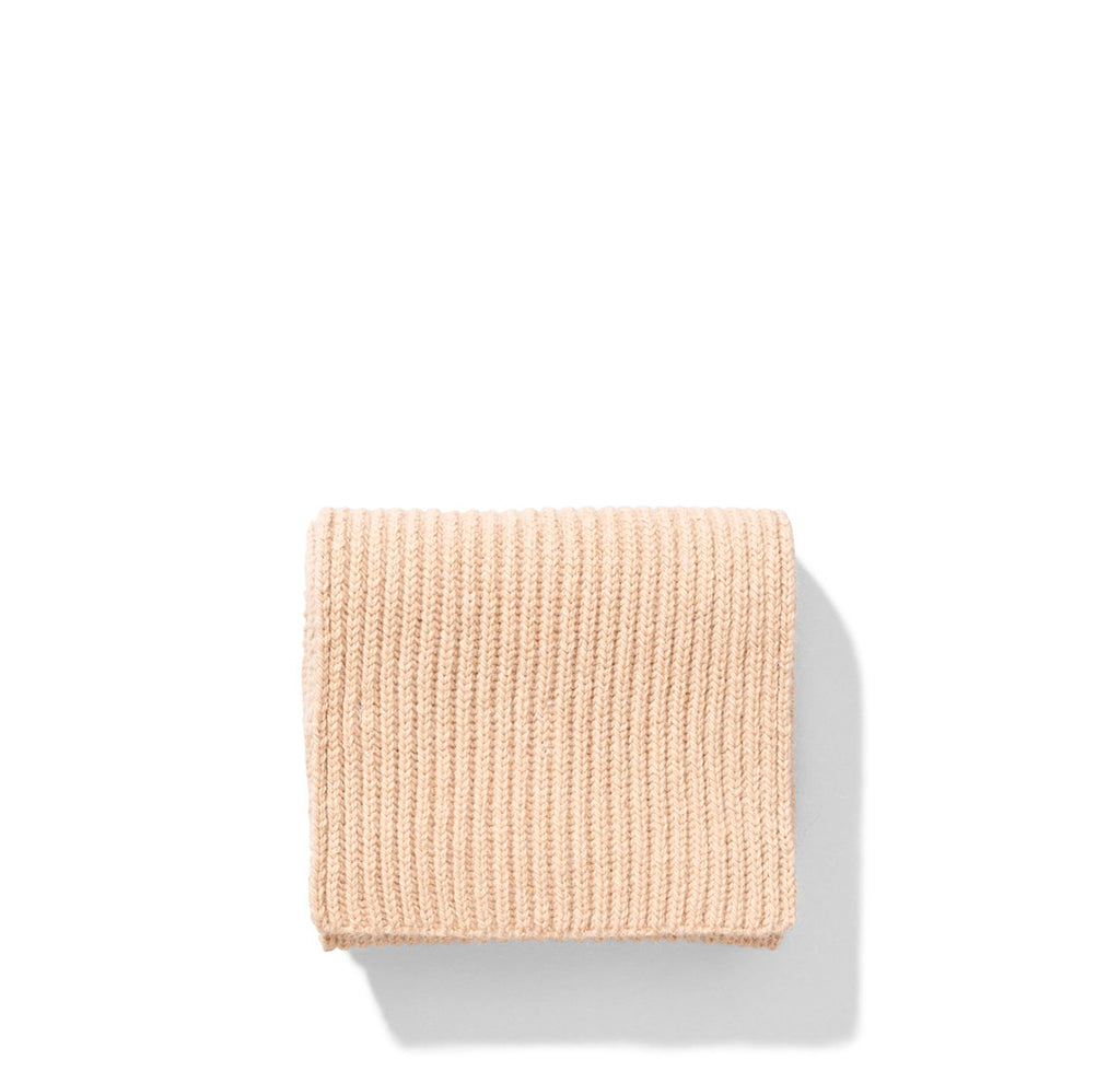 Norse Projects Womens Frida Alpaca Scarf: Camel Melange - The Union Project