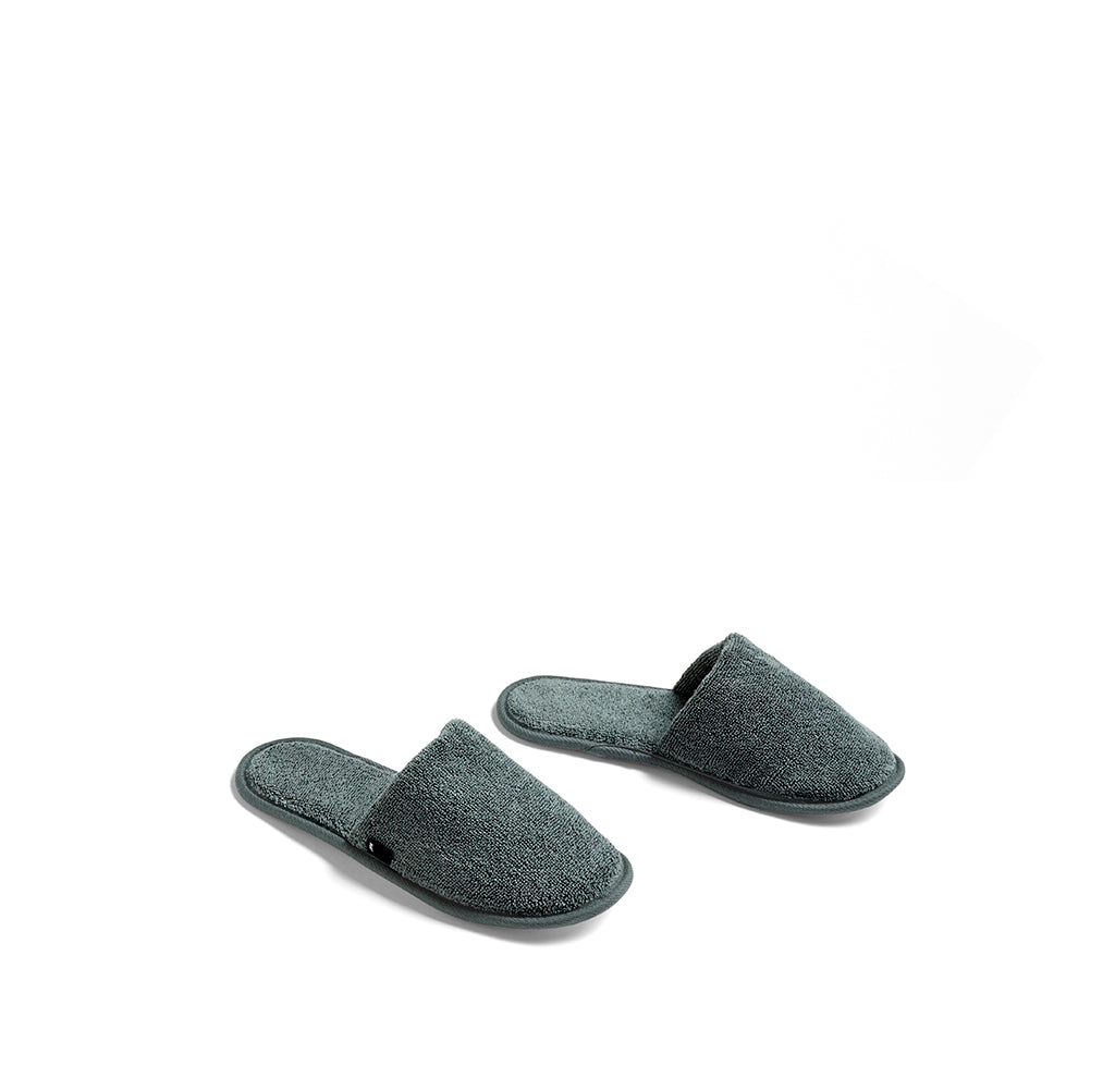 HAY Frotte Slippers: Dark Green - The Union Project
